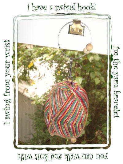 yarn bracelet 2