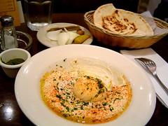 hummus and pitas and stuff