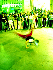 break dance verde