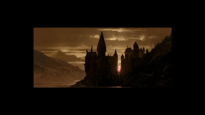 castillo viejo crepúsculo 2