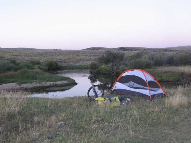 sweetwater river campsite