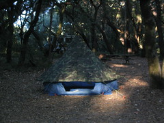 Our Tent, in One Try