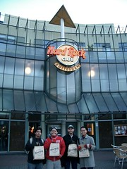 Hard Rock Cafe, Amsterdam, Netherlands