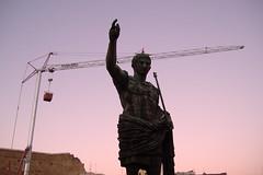 Rome, Italy -- Hail Caesar!
