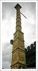 Dwajasthamba at Kollur Mookambika Temple