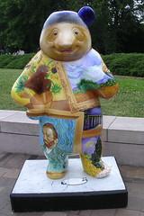 Panda van Gogh