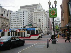 Pioneer Courthouse Square North, MAX Blue Line, Portland, Oregon