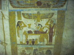 Paintings on the Phaoronic tombs