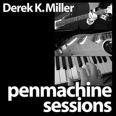 Penmachine Sessions Album Cover v.1
