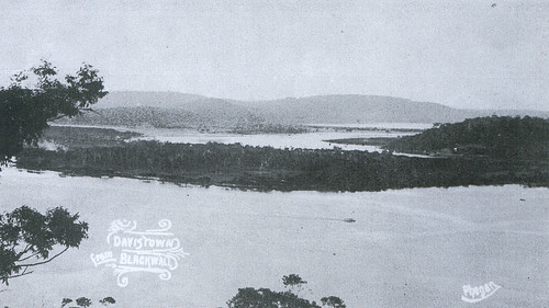 Old Postcard of St Hubert's Island