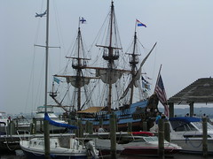 Tall ship in Alexandria