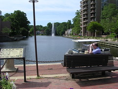 Lake Anne in Reston