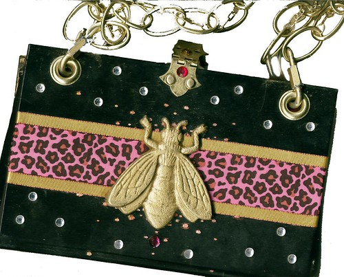 Glam-o-Rama Book Purse, back