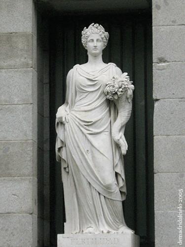 Estatua del Museo del Prado, Madrid