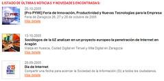 Titulares de noticias en terueldigital.es