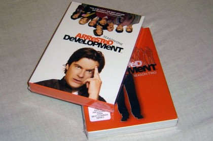 Arrested Development Seasons 1 and 2 DVDs