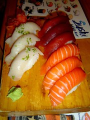 tricolor sushi