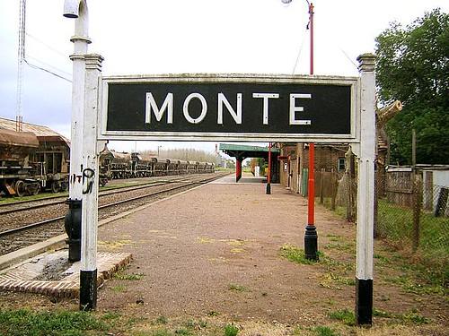 Estación de trenes de Monte