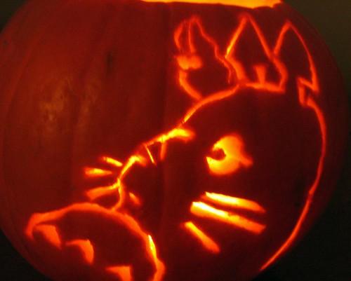 totoro pumpkin