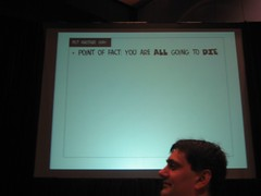 ppt slide from Bartle's speech at ACG 2005