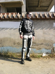 Halloween 2005 - Pimp Skeleton