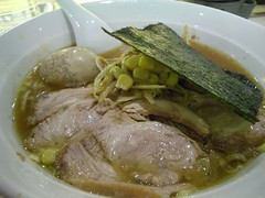 虎ジチャーシュー麺+虎卵@虎ジ