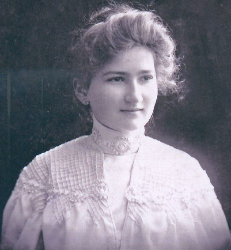 Sidonie, my grandmother when young