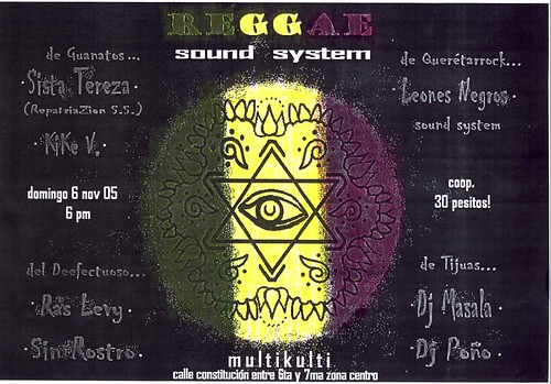 Flyer Reggae Sound System