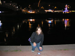 across from the Rouen fun fair