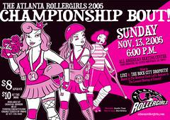 Atlanta Rollergirls 2005 Championship Bout