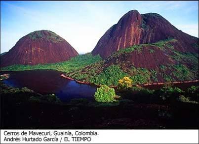 Cerros de Mavecuri Guainia