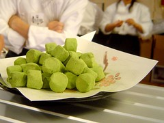green tea truffles