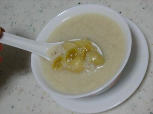 Barley Gingko Nuts Soya Dessert