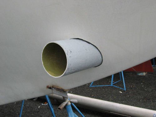 Building A Westsail 42 Bow Thruster Tube Installation Part I