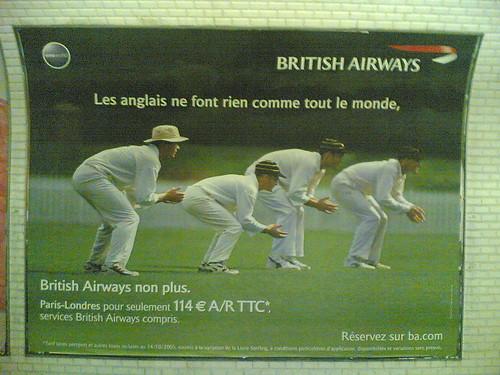 Cricket in Paris