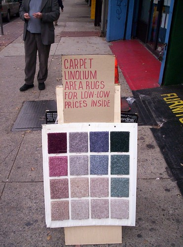 Carpet for Sale, Flatbush Avenue
