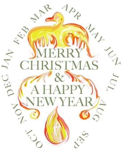 Phoenix Christmas Card
