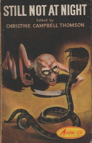 'Nice snake, come to daddy... ' Still Not at Night at The Vault of Evil, Paperback Anthology Hell
