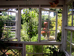 recycled window conservatory