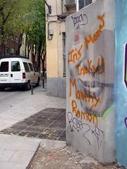 graffiti... ¿cara de bélmez?
