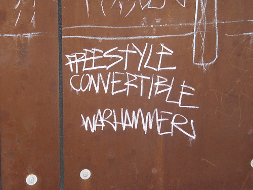Freestyle Convertible Warhammers