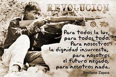 Zapata tenía un ideal acerca de la Revolución