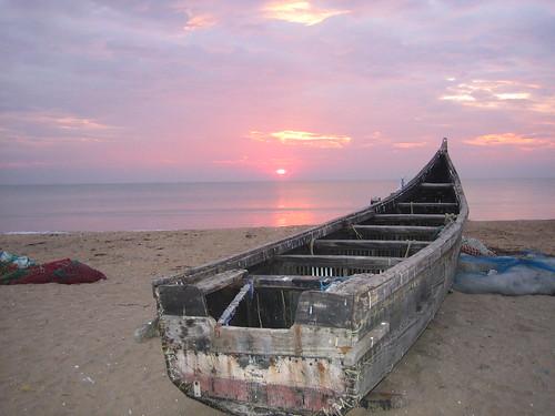 Sunset @Thalikkulam Beach 1