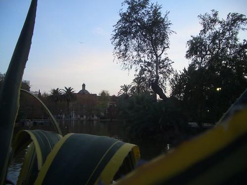 Herbst im Parc de Ciuatadella