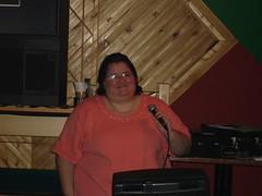 Dana singing