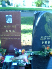 la tumba de bruce lee foto libre de flickr.com