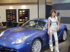 Osaka Motor Show hot rod
