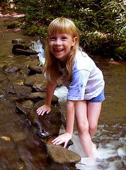 laurel in river
