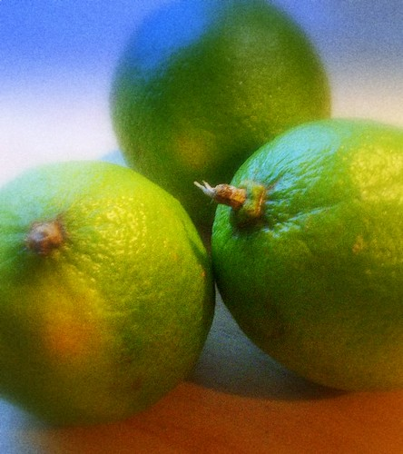 lime in color