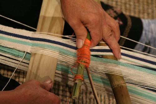 噶瑪蘭族獨特的香蕉絲織
